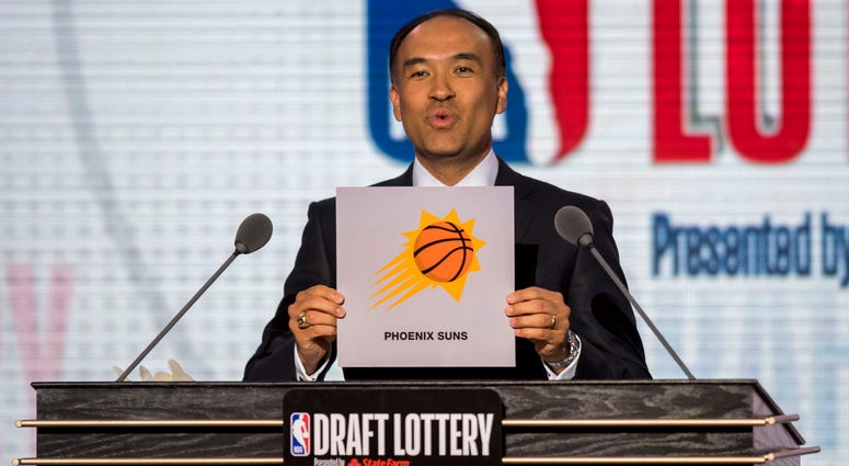 NBA deputy commissioner Mark Tatum