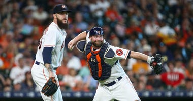 Dallas Keuchel and Brian McCann