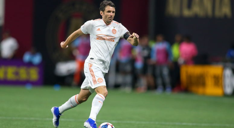 Atlanta United Captain Michael Parkhurst