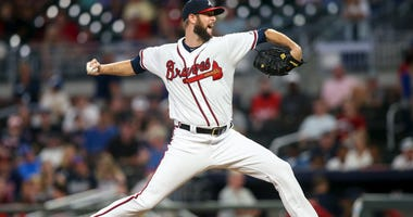 Chris Martin, one of three relievers the Braves added at the trade deadline