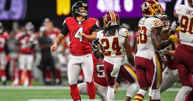 Atlanta Falcons Kicker Giorgio Tavecchio