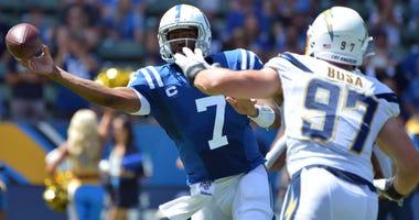 Indianapolis Colts QB Jacoby Brissett