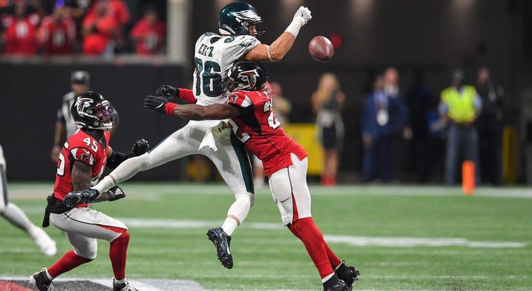 Atlanta Falcons LB Deion Jones and DB Keanu Neal