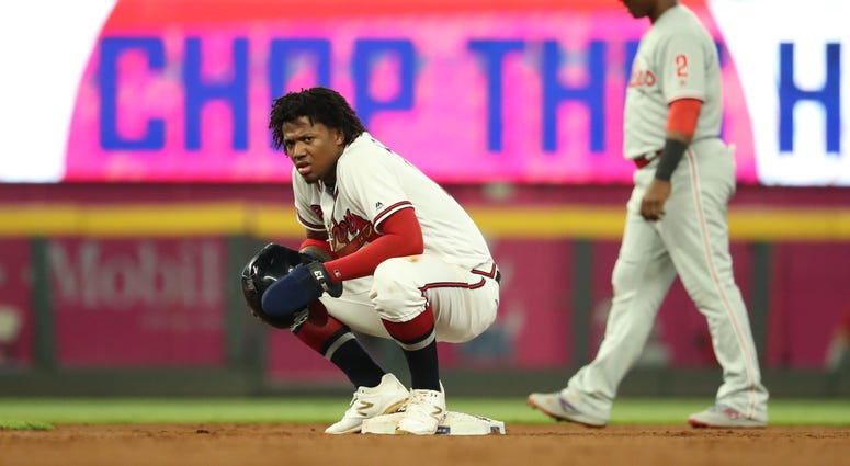Atlanta Braves Outfielder Ronald Acuna Jr.