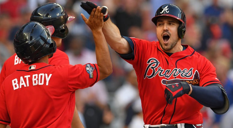Atlanta Braves OF Adam Duvall