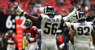 defensive end Dante Fowler Jr.