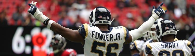 defensive end Dante Fowler Jr.