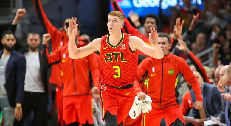Atlanta Hawks Guard Kevin Huerter