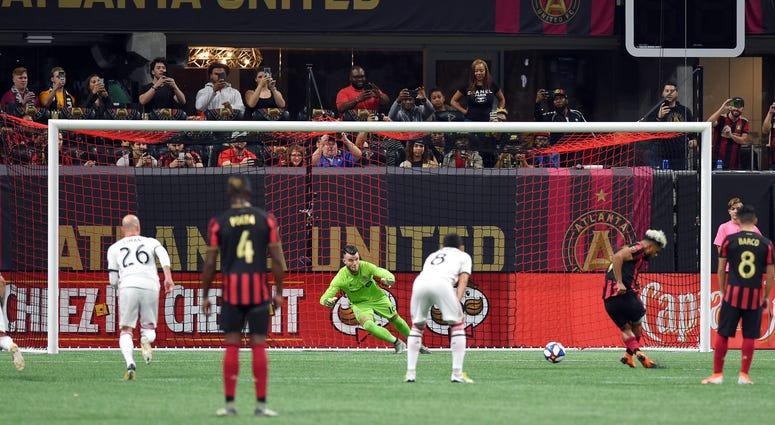 Atlanta United Striker Josef Martinez