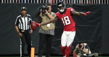 Atlanta Falcons WR Calvin Ridley