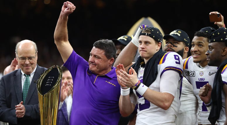 Ed Orgeron | Joe Burrow