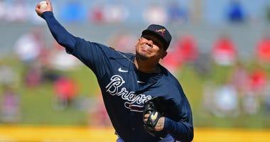 Atlanta Braves P Felix Hernandez