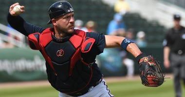 Atlanta Braves catcher Tyler Flowers