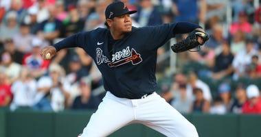 Atlanta Braves Pitcher Felix Hernandez