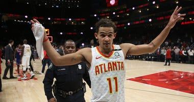 Atlanta Hawks PG Trae Young