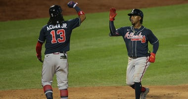 Ronald Acuna and Ozzie Albies