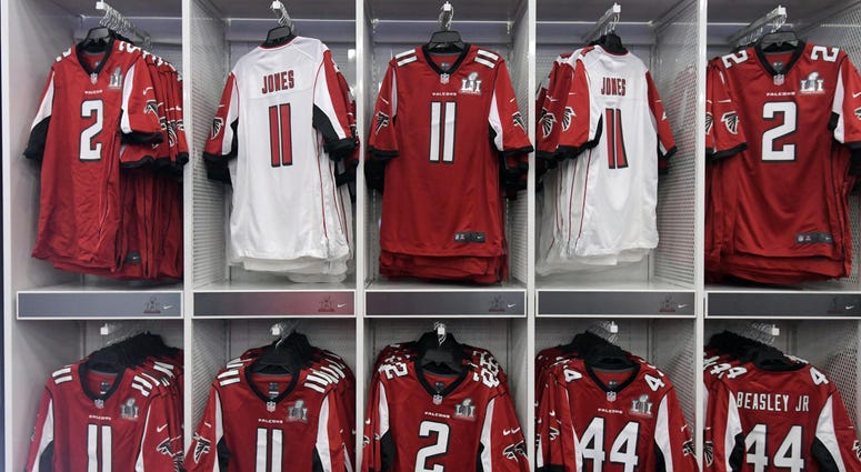 Atlanta Falcons Jerseys