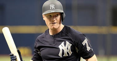 New York Yankees left fielder Clint Frazier