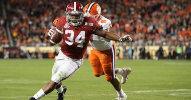Alabama Crimson Tide running back Damien Harris