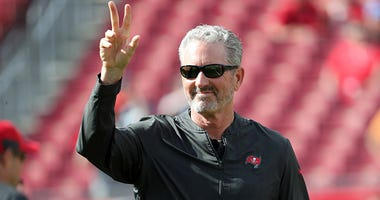 Atlanta Falcons offensive coordinator Dirk Koetter