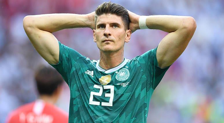 Germany forward Mario Gomez
