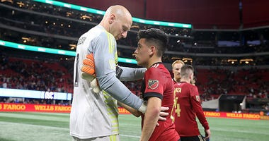 Atlanta United, Brad Guzan, Ezequiel Barco