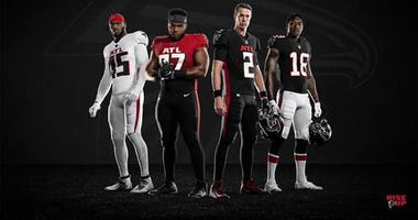 Atlanta Falcons New Uniforms