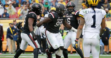 South Carolina Gamecocks defensive lineman Javon Kinlaw
