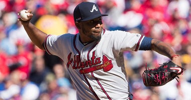 Atlanta Braves starting pitcher Julio Teheran
