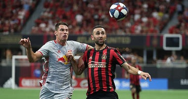 Atlanta United forward Justin Meram