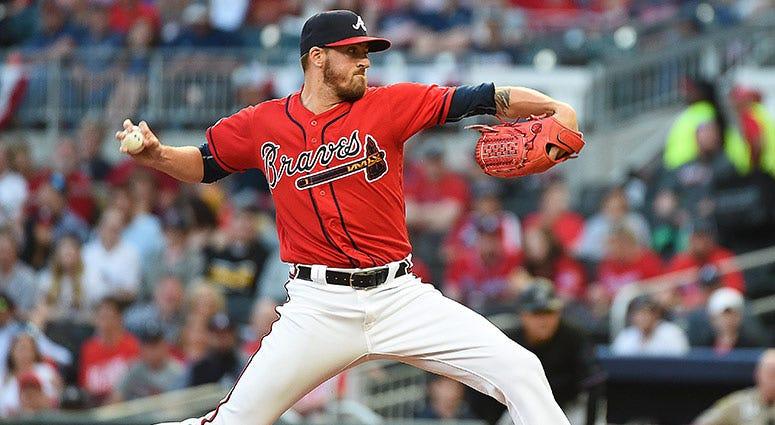 Kevin Gausman of the Atlanta Braves