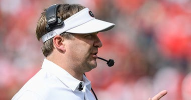 Georgia Bulldogs coach Kirby Smart