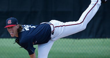 Atlanta Braves starting pitcher Kolby Allard