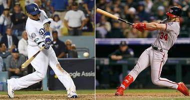 Shortstop Manny Machado and outfielder Bryce Harper