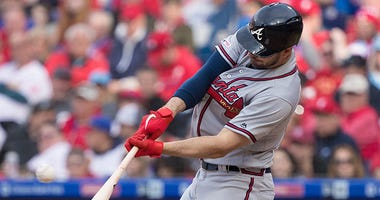 Atlanta Braves outfielder Matt Joyce