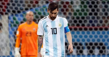 Argentinian forward Messi