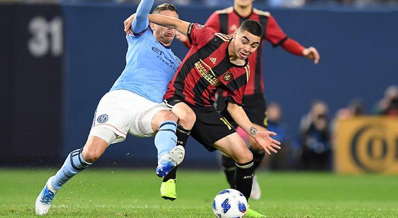 Atlanta United midfielder Miguel Almiron