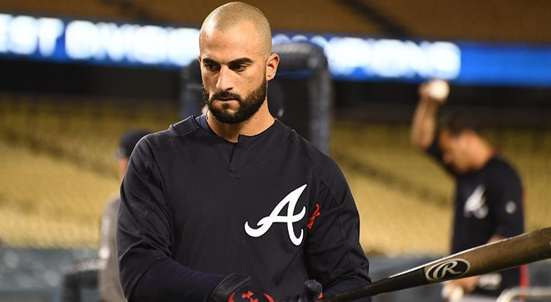 Atlanta Braves outfielder Nick Markakis