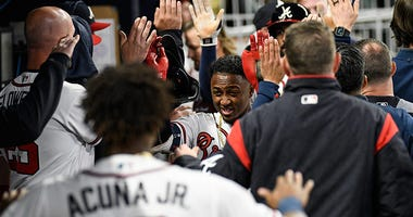Atlanta Braves second baseman Ozzie Albies