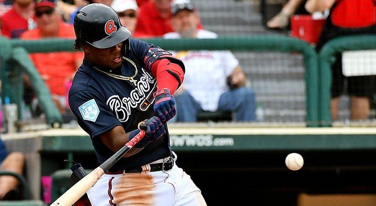 Atlanta Braves left fielder Ronald Acuña Jr.