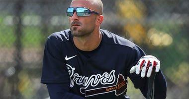 Braves' Markakis returns 3 weeks after opting out of season