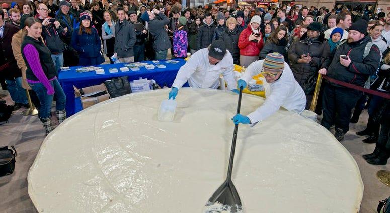 World's Largest Key Lime Pie