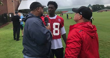 Atlanta Falcons receiver Calvin Ridley