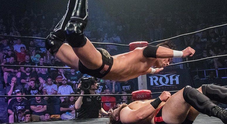 Flip Gordon RING OF HONOR Cory Tatum