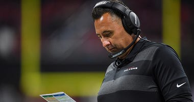 Atlanta Falcons offensive coordinator Steve Sarkisian