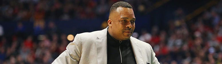 Head coach Ron Hunter of the Georgia State Panthers