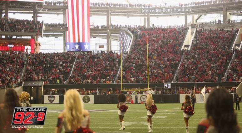 Atlanta Falcons Military Appreciation Day
