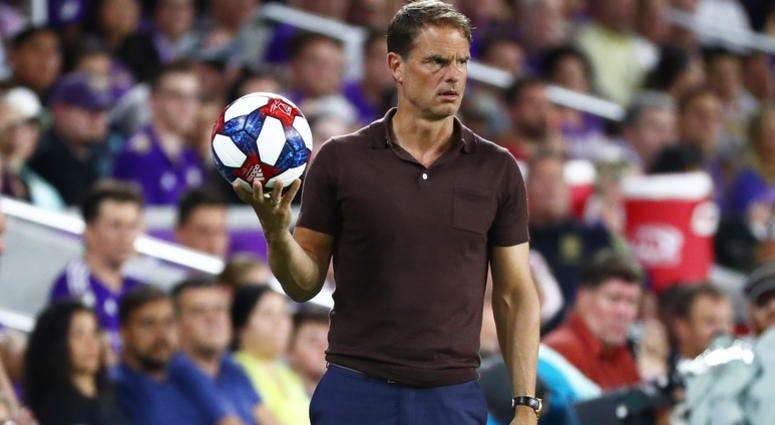 Atlanta United Manager Frank de Boer
