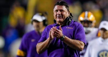 LSU Head Coach Ed Orgeron