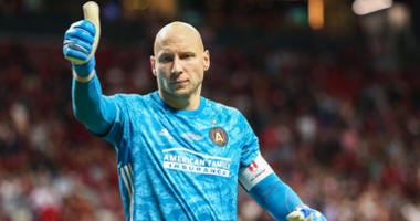 Guzan: We're not here for second place